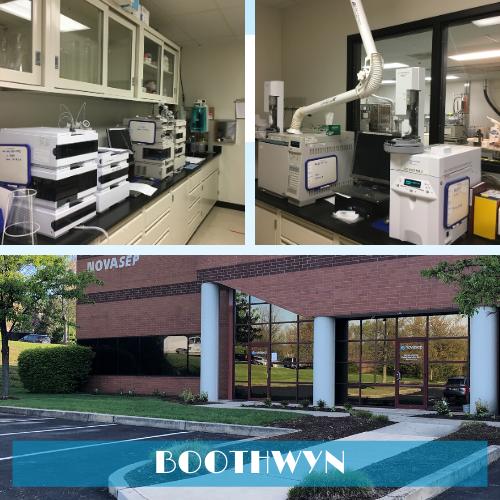 Novasep R&D facility in Boothwyn