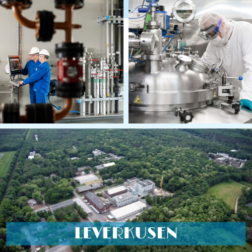 Novasep manufacturing facility in Leverkusen