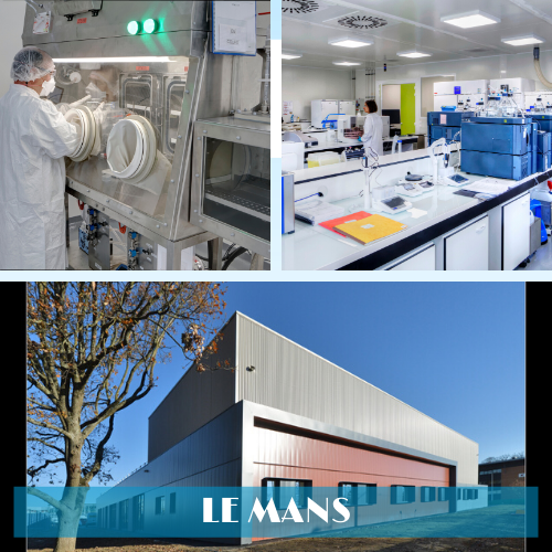 Novasep manufacturing facility in Le Mans