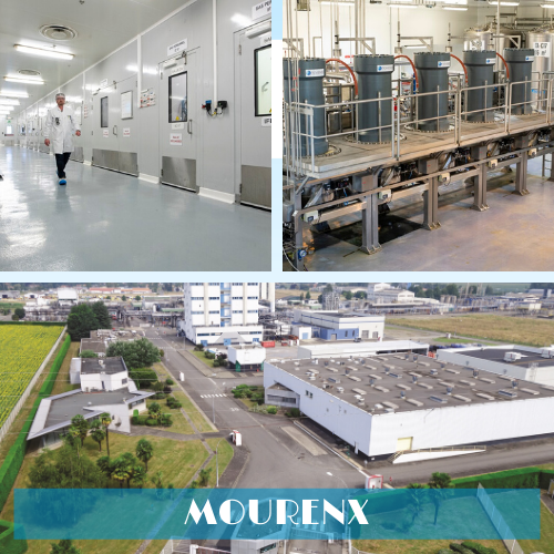 Novasep manufacturing facility in Mourenx