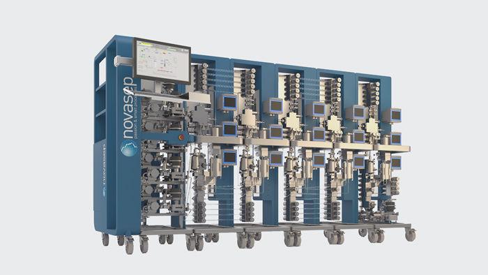 BioSC Pilot continuous chromatography skid