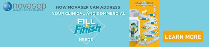 Fill & Finish Infographics Banner - Novasep