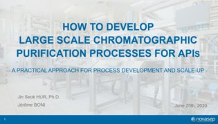 Webinar recording: How to develop large scale chromatographic purification processes for APIs