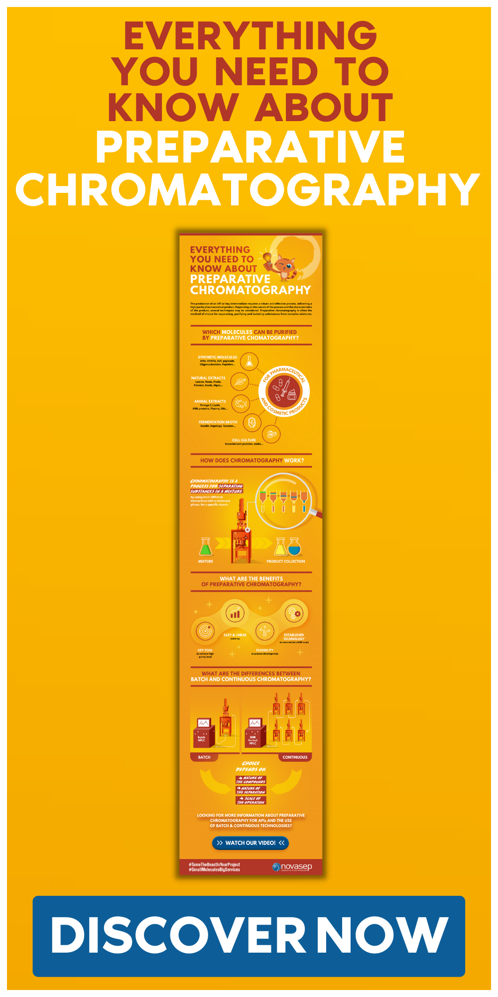 Infographic Everything You Need To Know About Preparative Chromatography Thumbnail