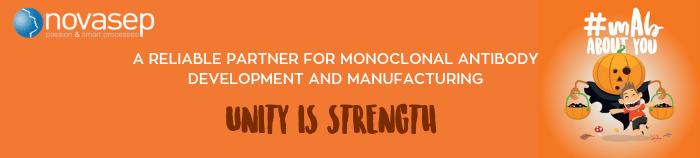 Novasep banner monoclonal antibodies development and manufacturing 3