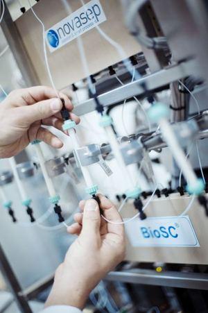 Novasep BioSC Lab Continuous Chromatography