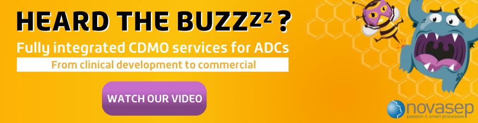 Novasep CDMO Services For ADCs Banner