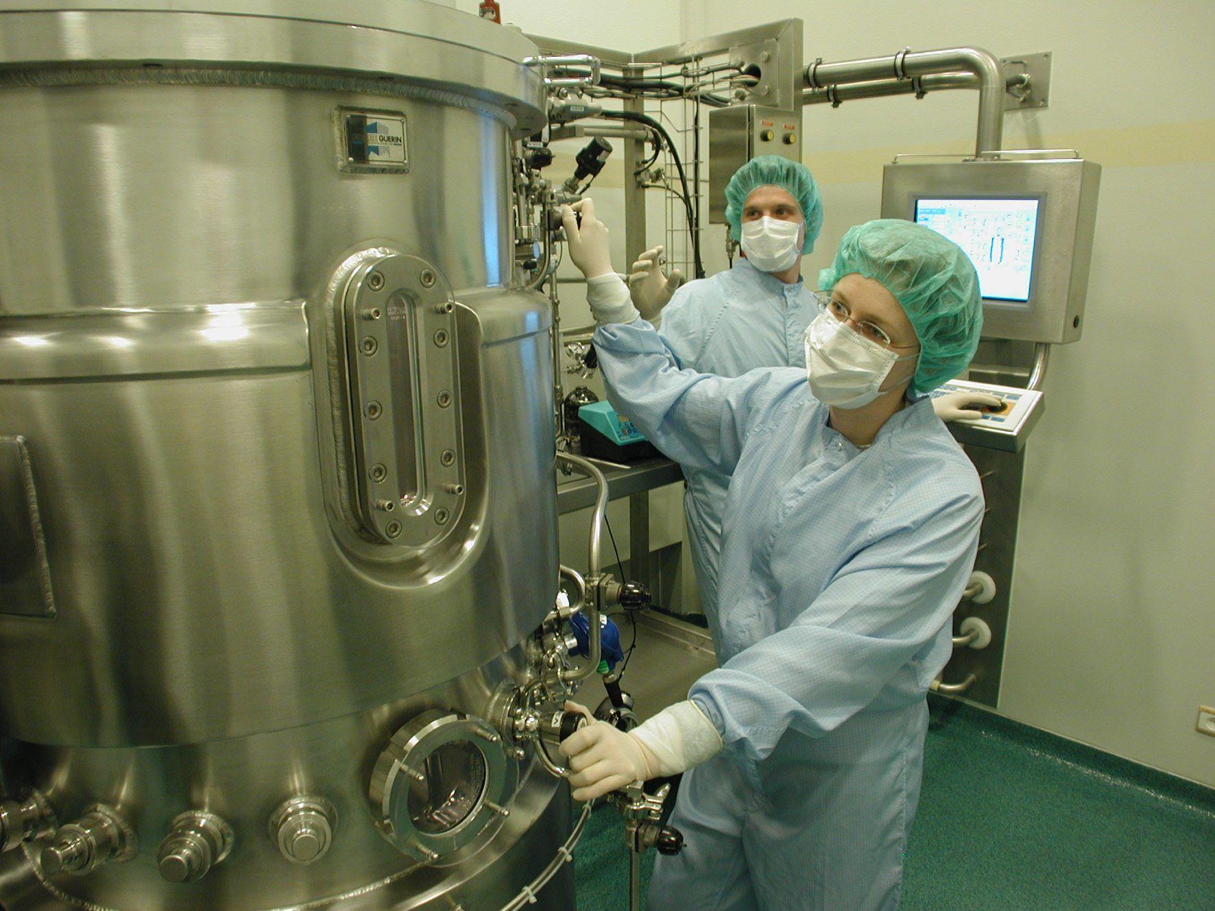 Novasep Cell Culture 300L Bioreactor