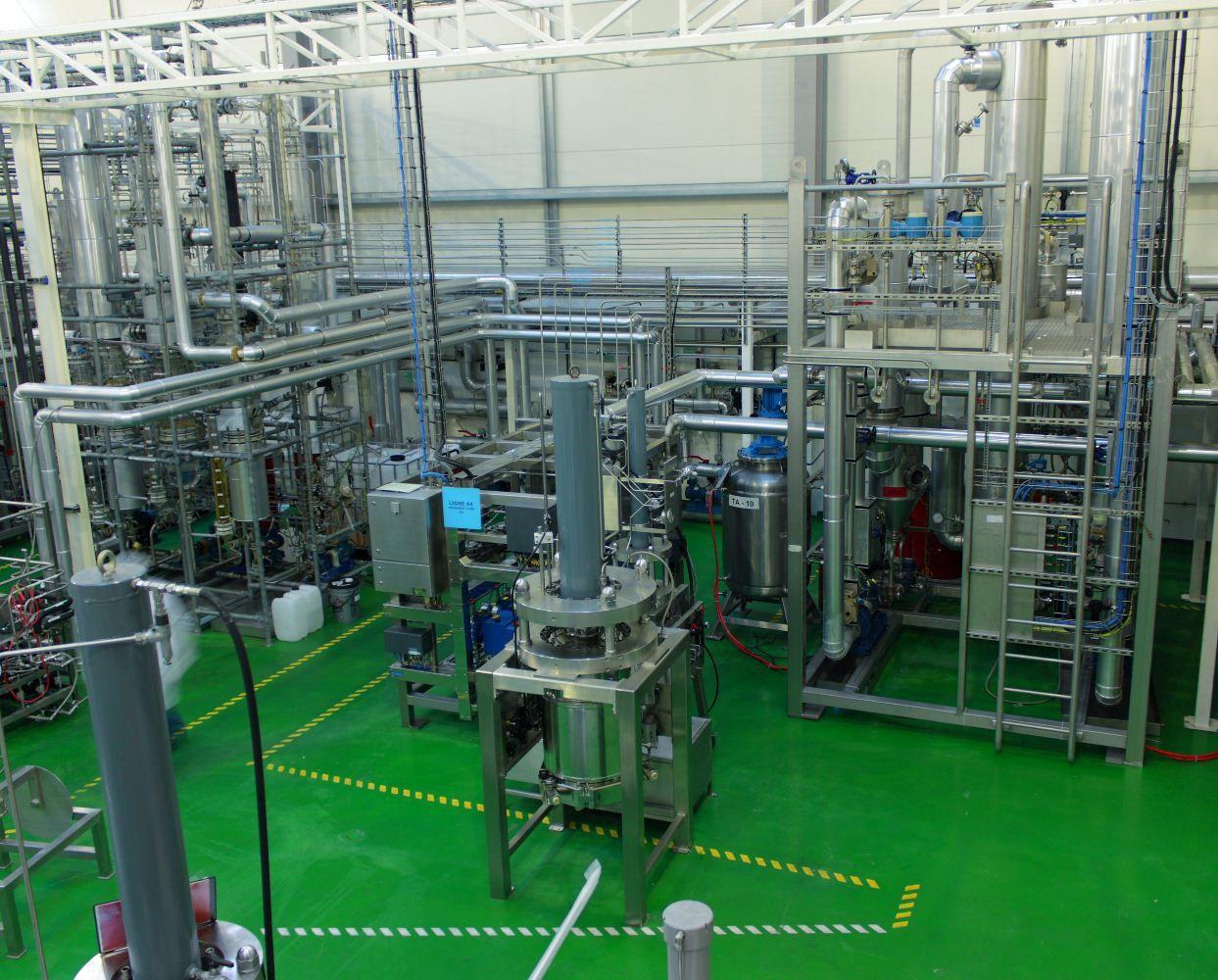 Novasep CMO Chromatography Purification Platform