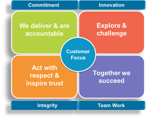 Novasep Core Values And Customer Focus