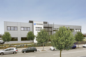 Novasep Lyon Biodistrict Site