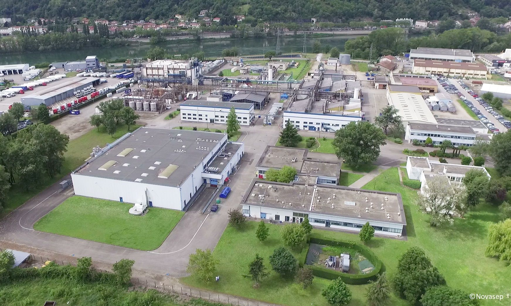 Novasep Manufacturing Facility For Ozonolysis In Chasse Sur Rhone