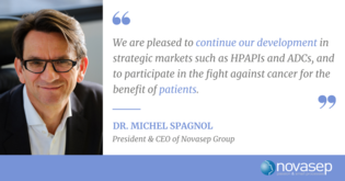 Novasep expands its HPAPI manufacturing capacity in Le Mans for innovative cancer therapies