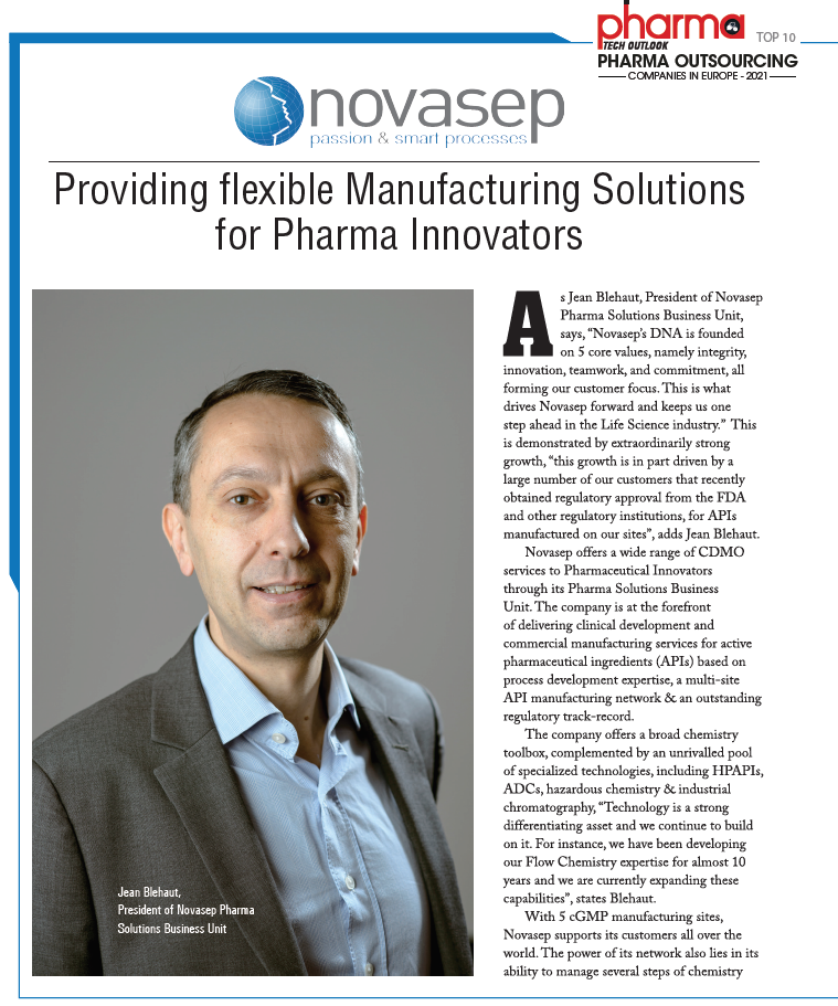 Providing Flexible Manufacturing Solutions For Pharma Innovators article Page 2