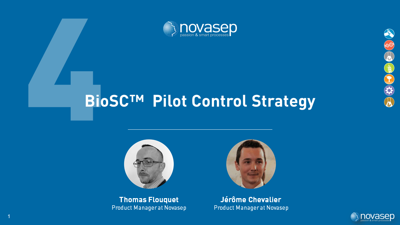 Control Strategy in a Continuous and Intensified Bioprocessing