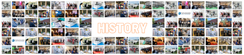 Novasep has quite a history behind it!