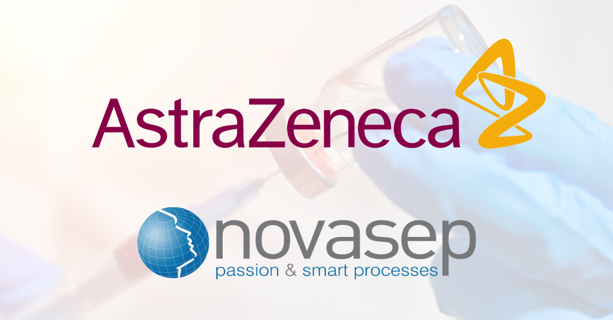 CORONAVIRUS: NOVASEP PARTNERS WITH ASTRAZENECA TO PRODUCE...