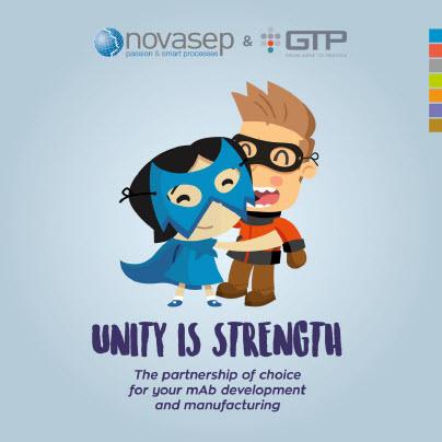 Novasep & GTP mAb offering