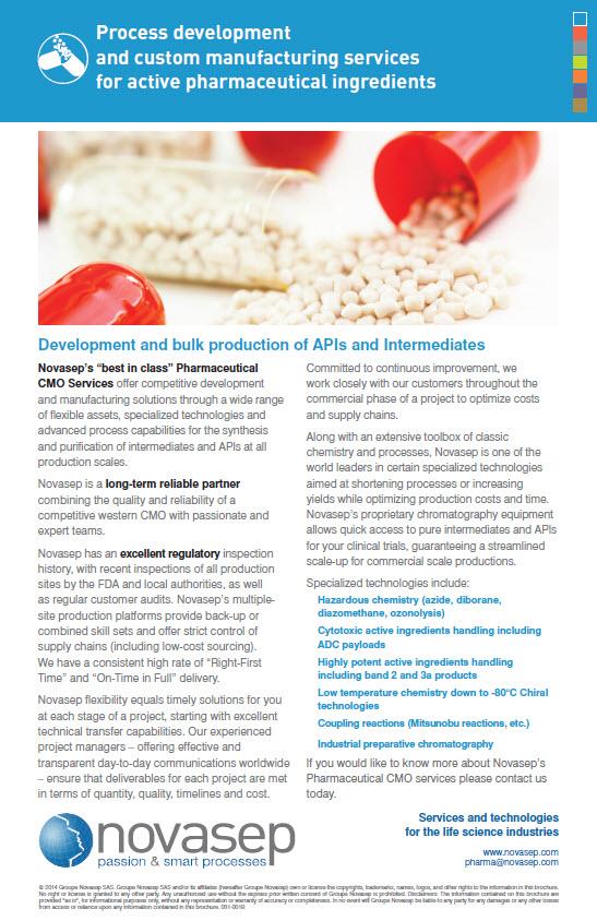 Global offer for pharmaceuticals