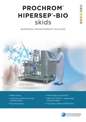 Prochrom Hipersep-Bio LPLC skids