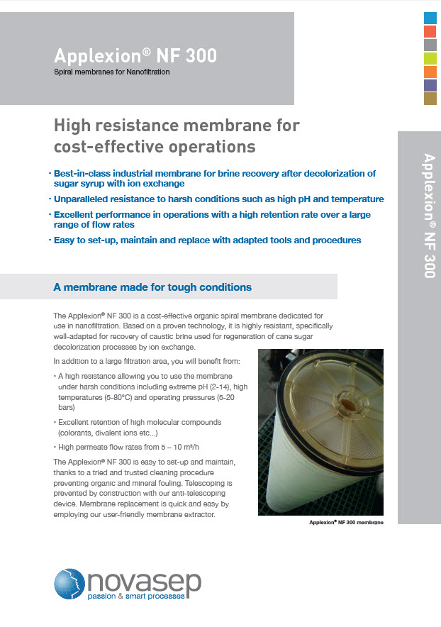 Applexion NF300 membrane